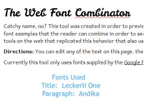 leckerli web font