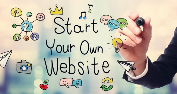 How to create your own website using hosting services.