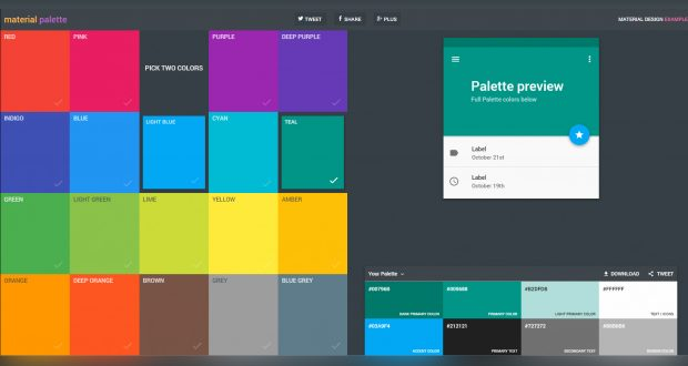 Choosing web design color palettes seoogle for Web page color palette